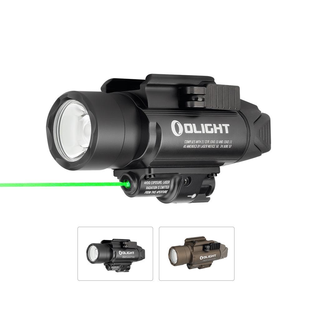 Olight Baldr Pro 1350 Lumens Green Laser Weapon Light
