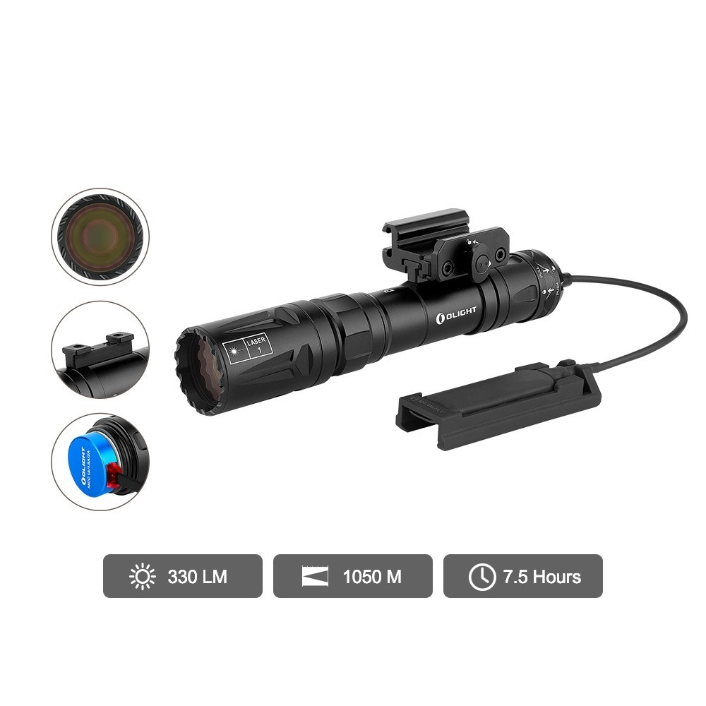 Odin Turbo 1050 Meters Throw LEP Tactical Light