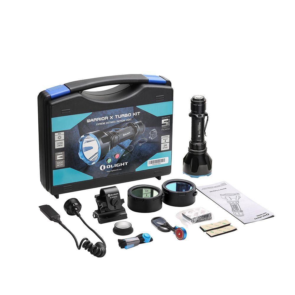 Olight Warrior X Turbo Kit - Perfect Hunting Kit