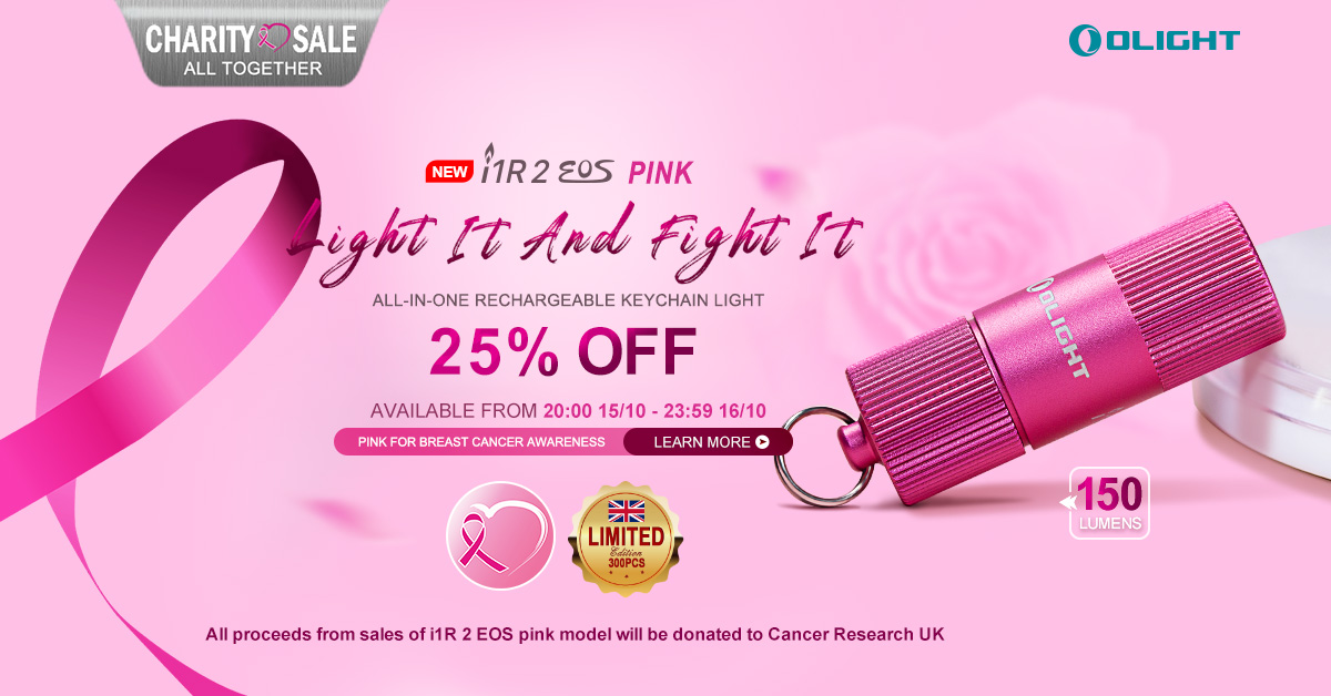 Join us and save lives - i1R 2 Pink Charity Sale