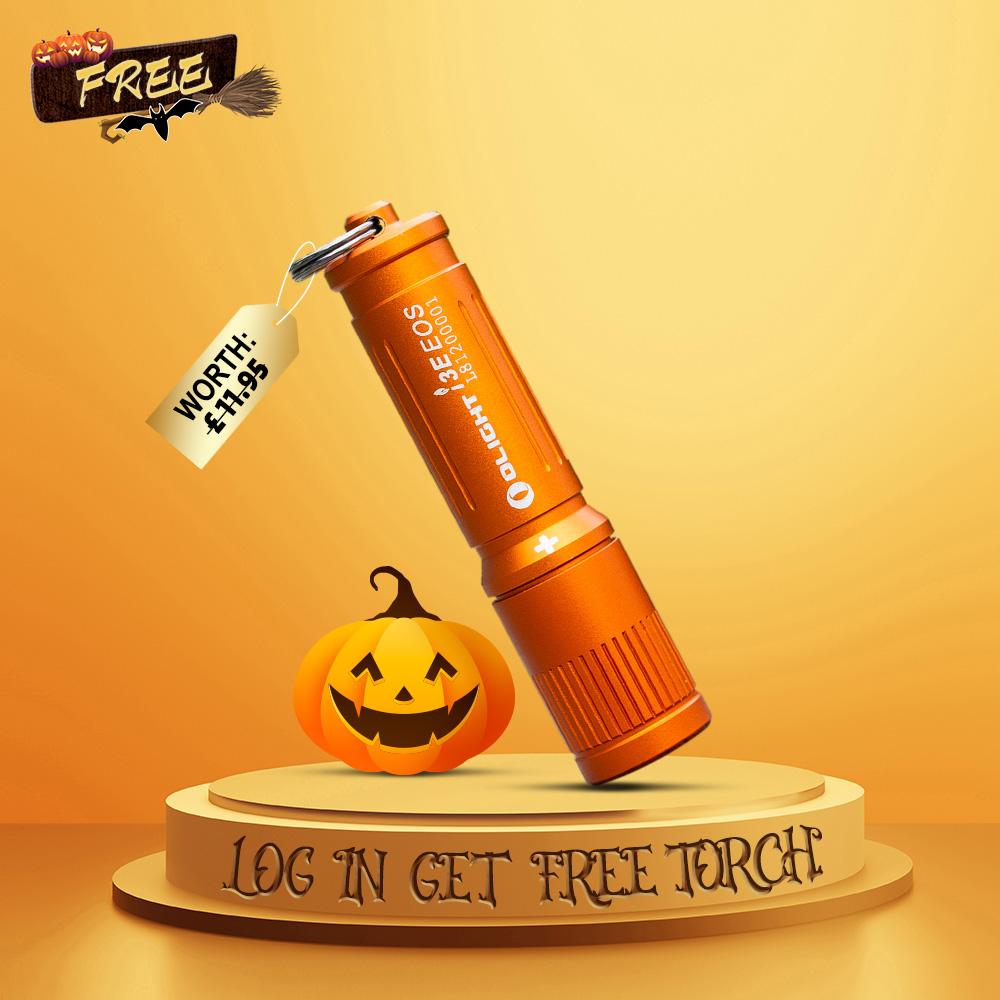 FREE Log in Gift | i3E EOS Orange Keychain Light
