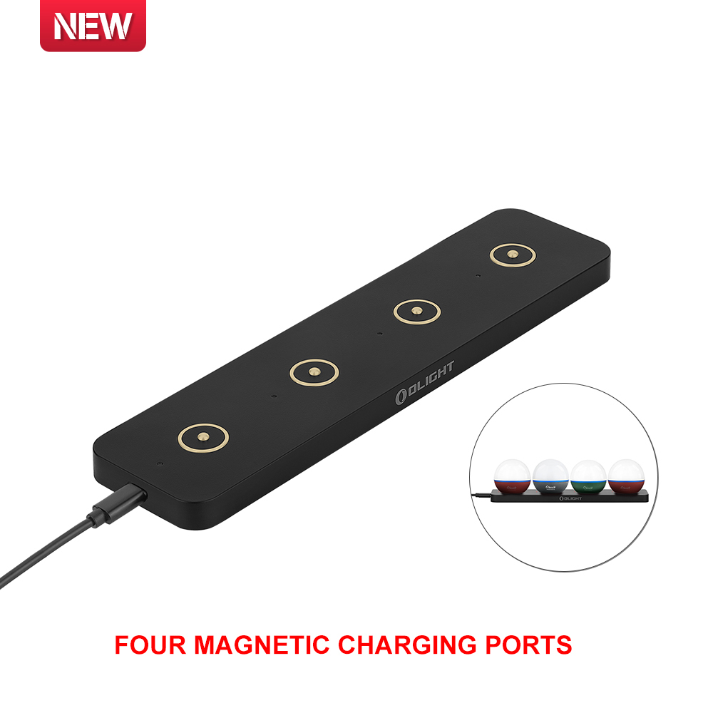 Olight Omino with 4 Magnetic Charging Ports