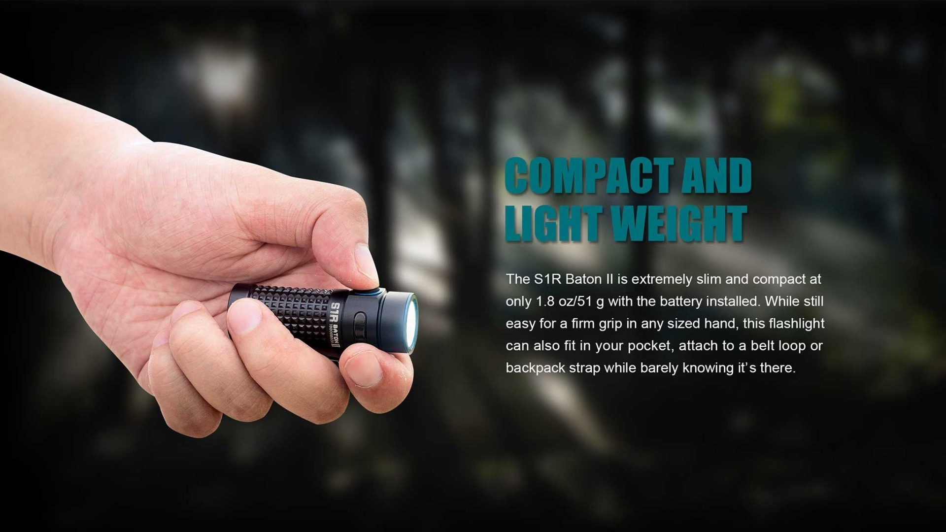 Olight S1R Baton II – A look at this EDC Torch