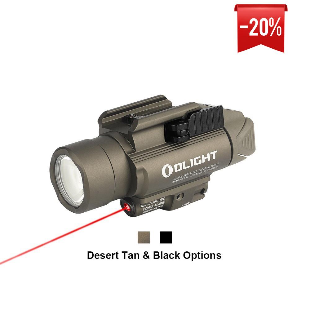 Olight Baldr RL 1120 Lumens Compact Red Laser Weapon Light