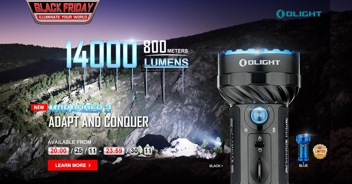 Marauder 2 —— LUMENS MONSTER! 14000 LUMENS!