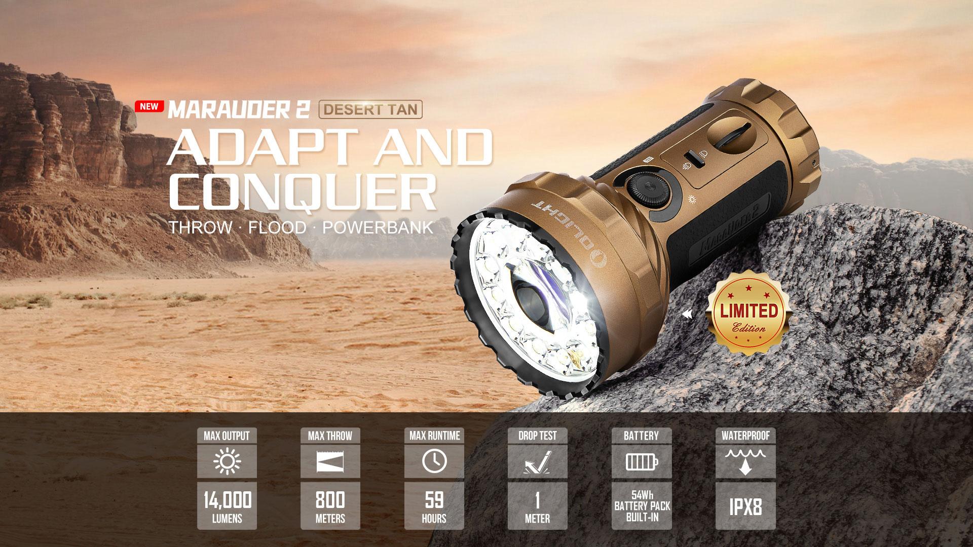 Marauder 2 Finally In Desert Tan