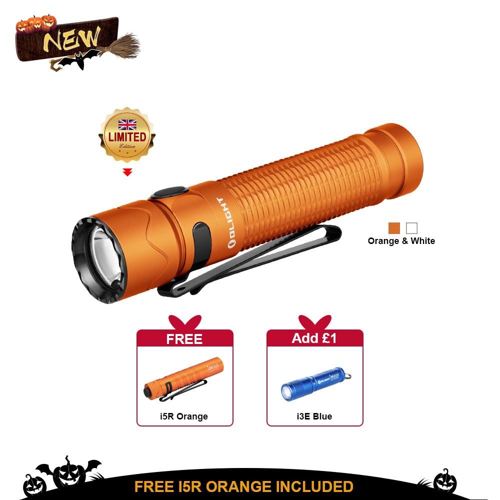 Olight Warrior Mini 2 Orange/White Tactical Torch