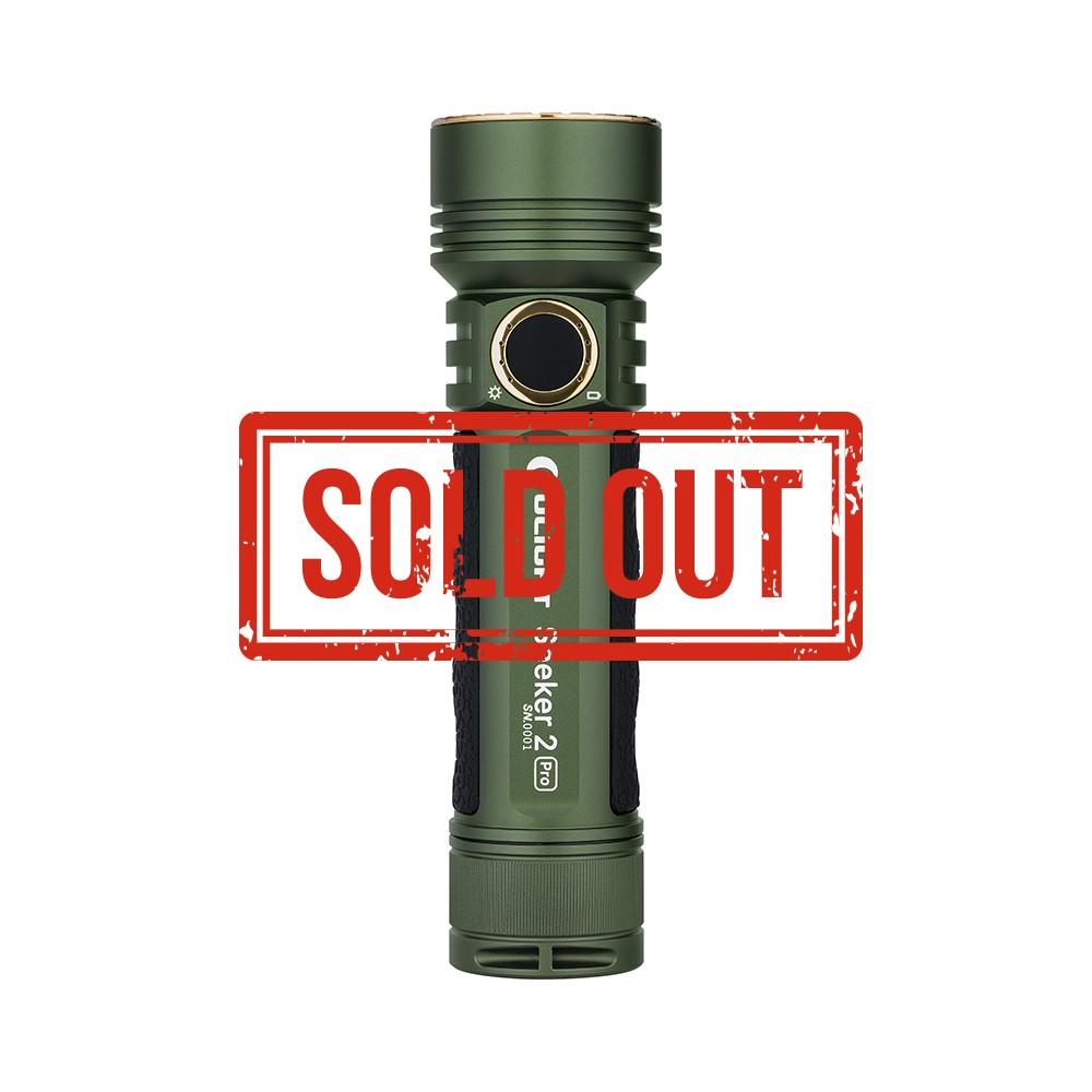 Seeker 2 Pro OD Green 3200 Lumen Handheld Torch