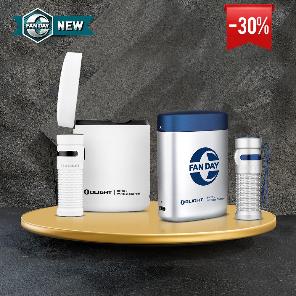 Olight Baton 3 Premium Edition Industry-leading Wireless Charging Torch