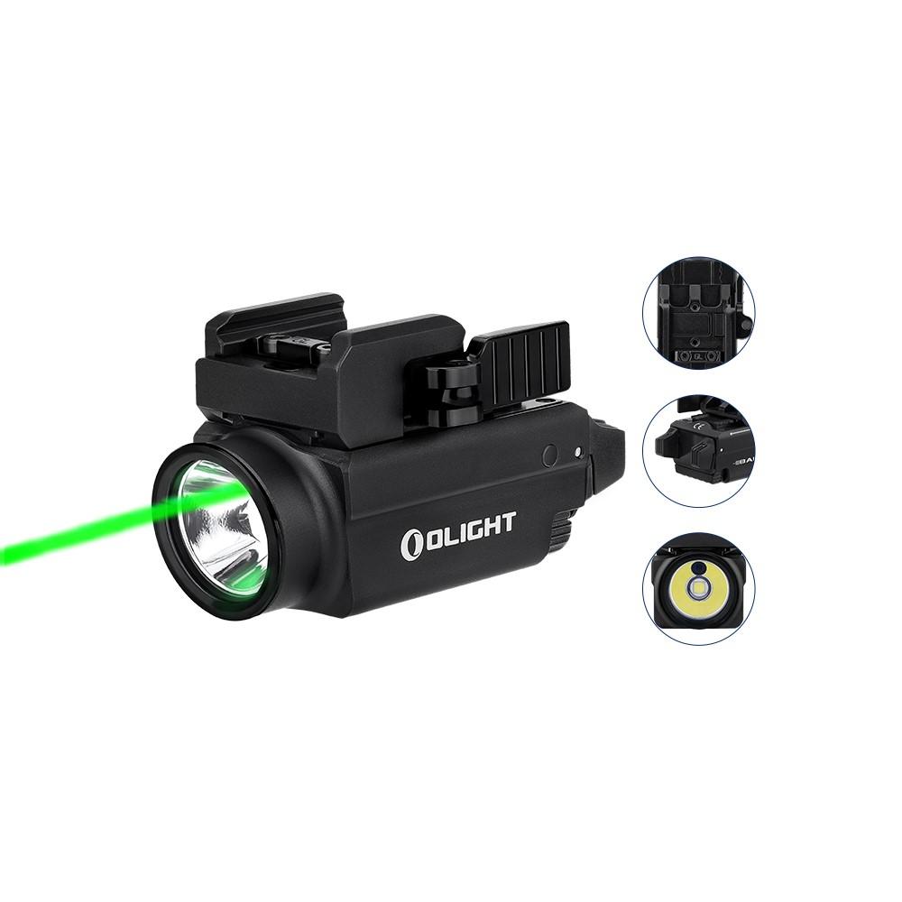Olight Baldr S 800 Lumen Green Laser Weapon Light