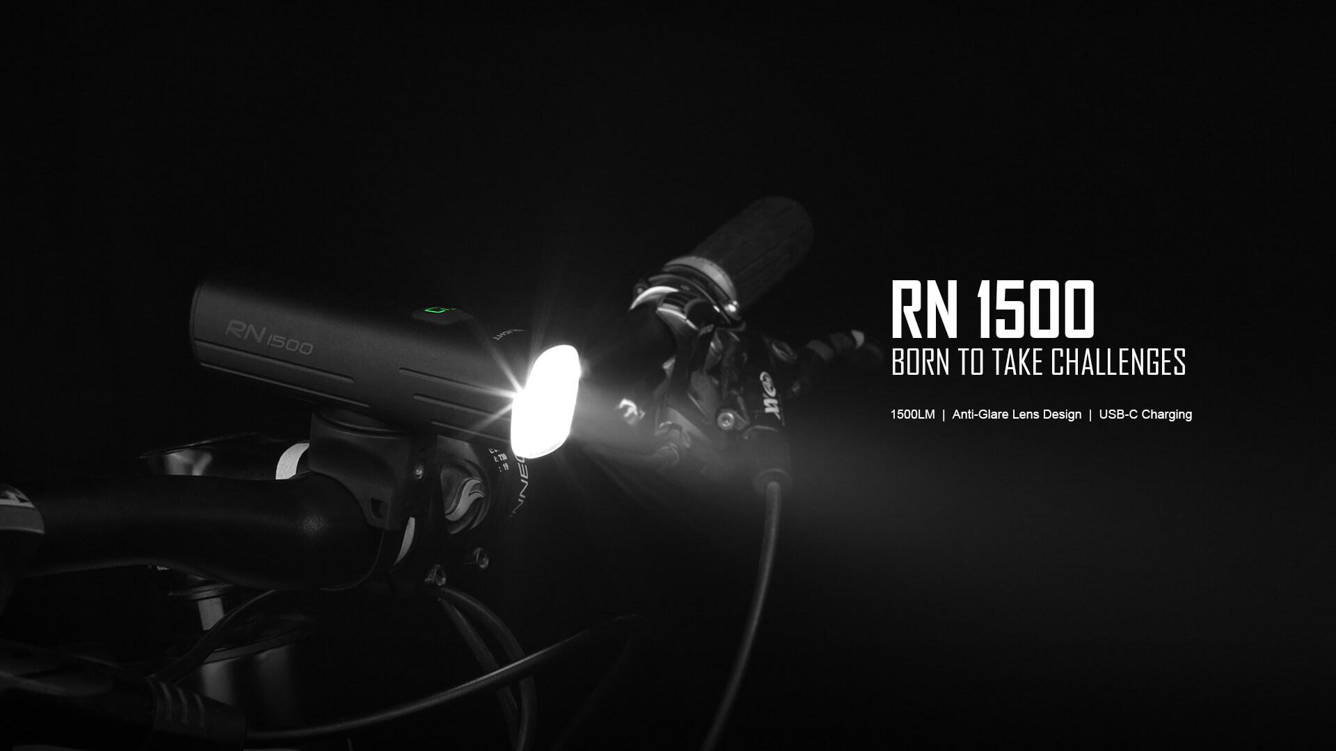 Olight RN 1500 And SEEMEE 30 Bike Light Set Review