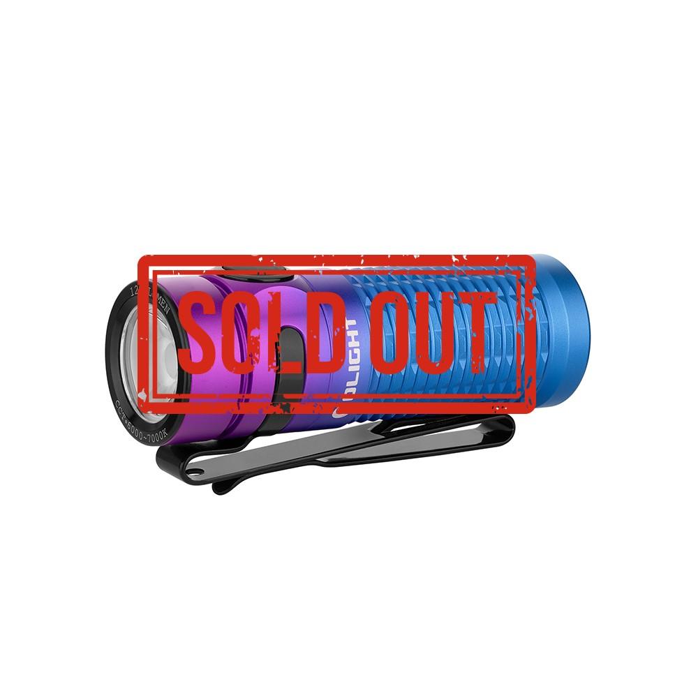 Olight Baton 3 Purple Gradient 1200 Lumens Pocket EDC Torch