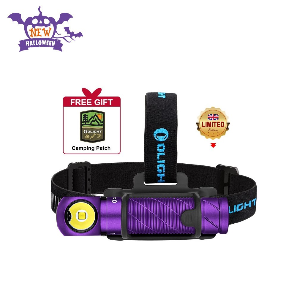 Olight Perun 2 Purple Brightest Multifunctional Headlamp