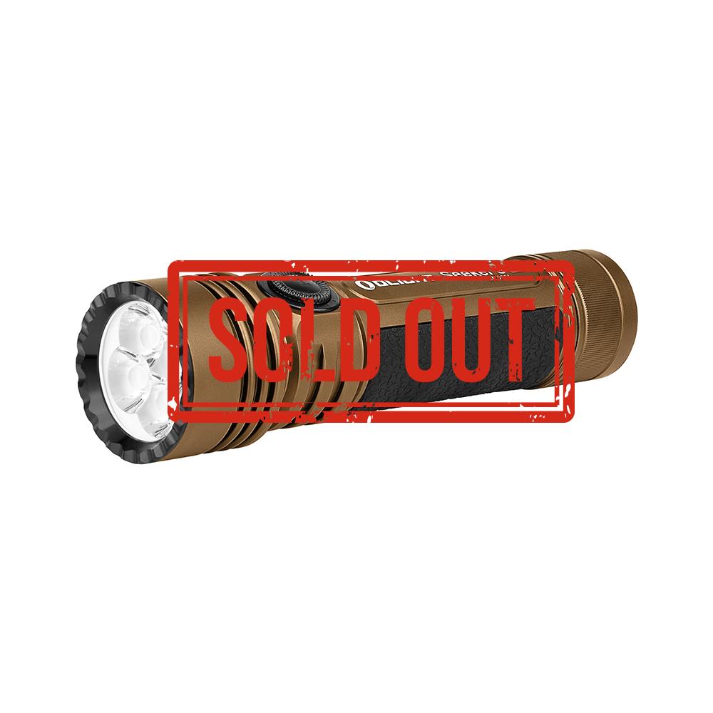 Olight Seeker 3 Pro Desert Tan 4200 Lumen Powerful LED EDC Torch