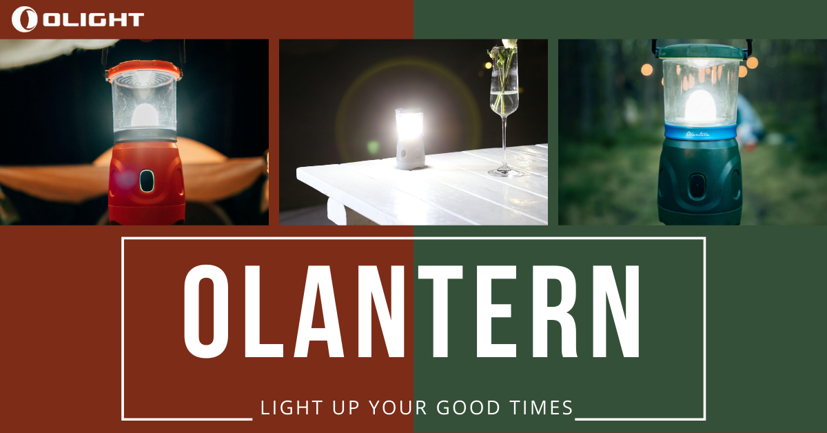 To Be An Enthusiastic Camper With Olantern