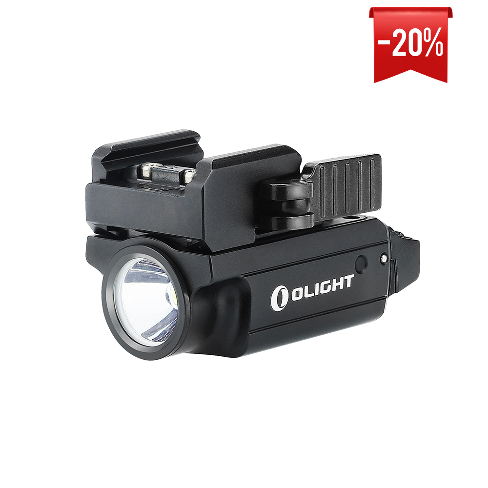 Olight PL-MINI 2 Valkyrie Black Compact Rechargeable PL Light
