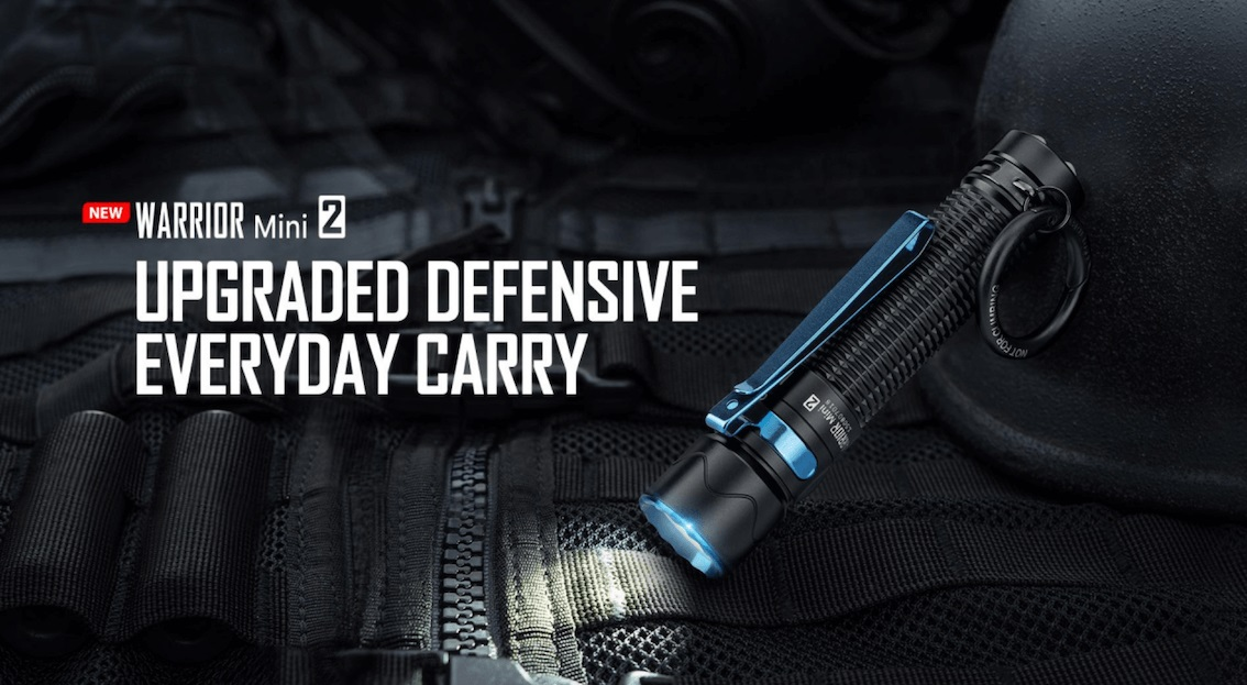 Olight Warrior Mini 2 Compact Tactical Torch Review
