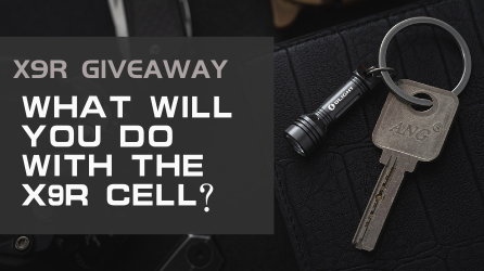 FB Group Giveaway | Design the scene graph of X9R CELL