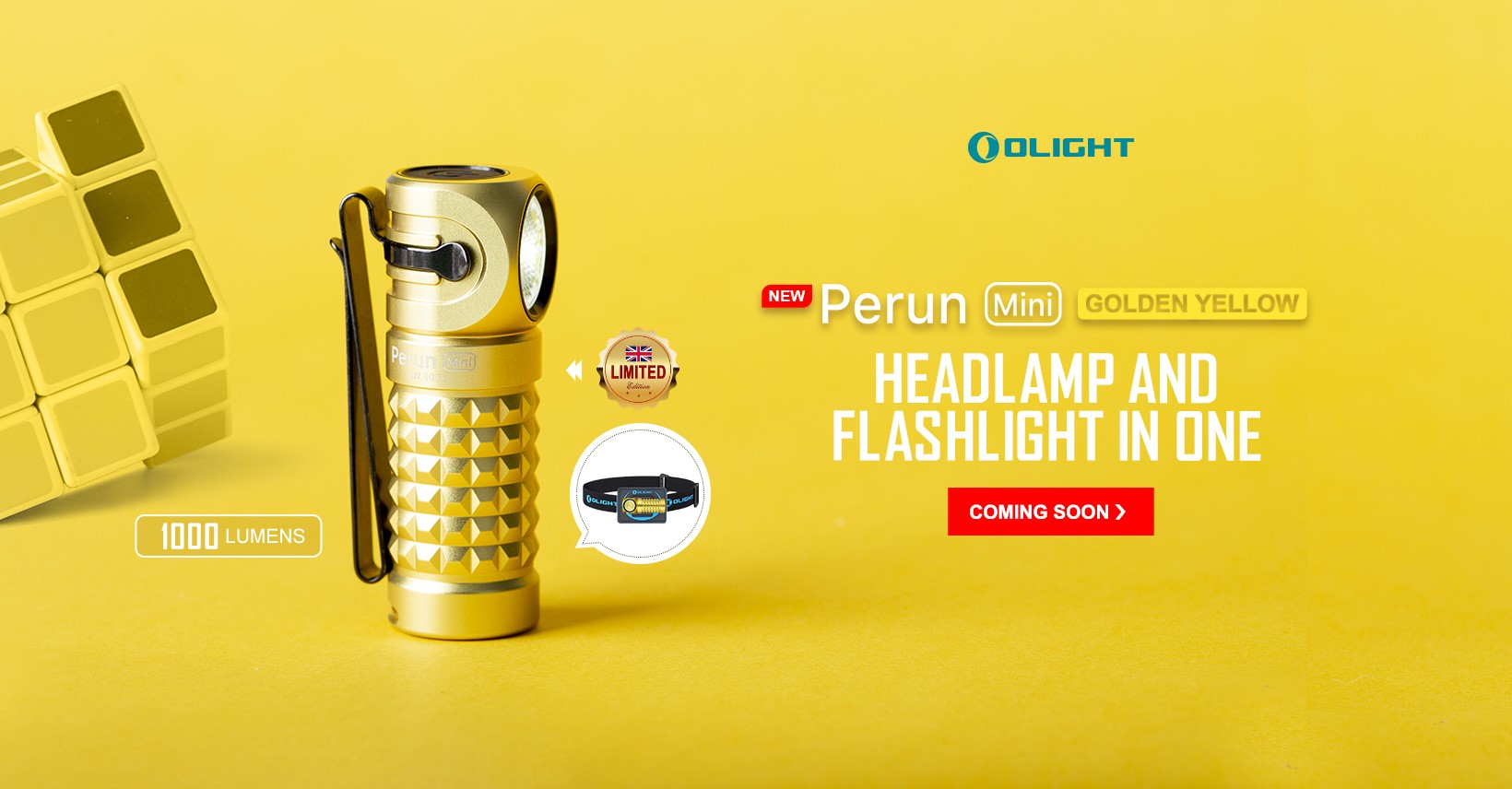 Perun mini kit Golden Yellow
