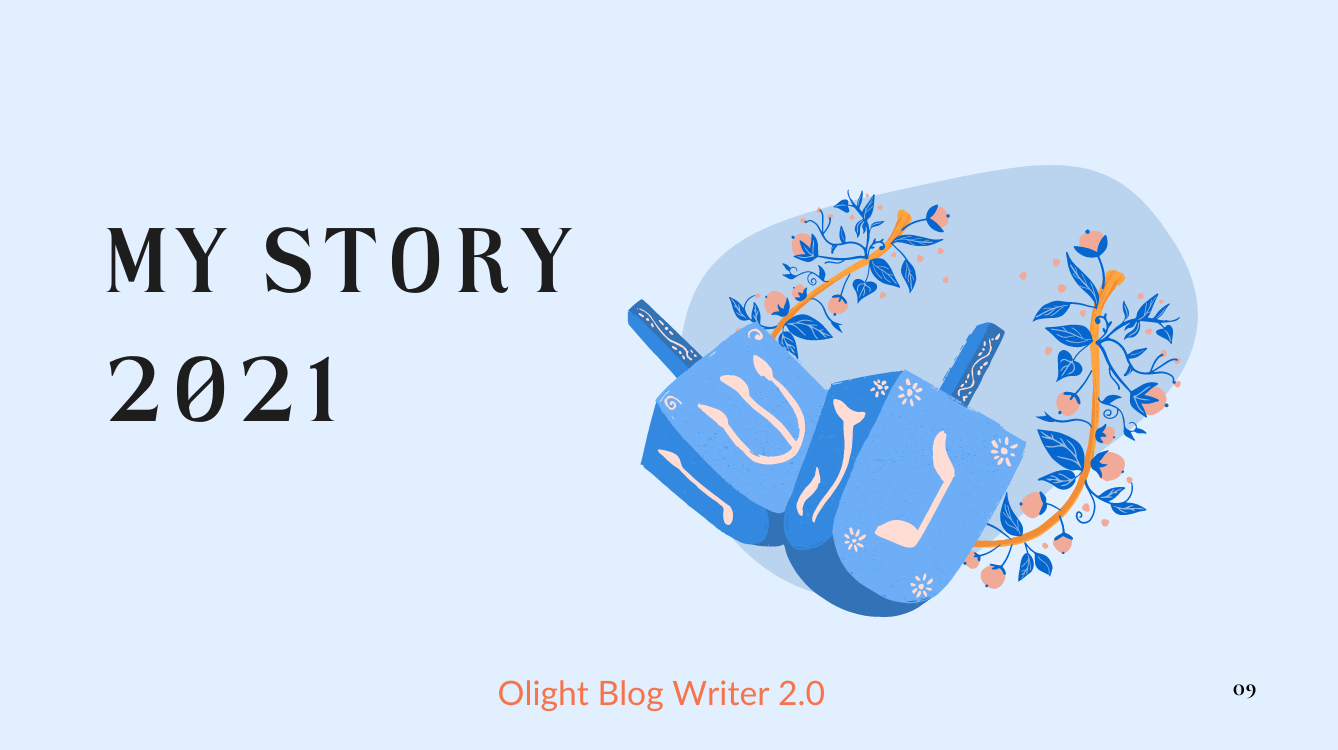 ⑥ Share My Story in 2021