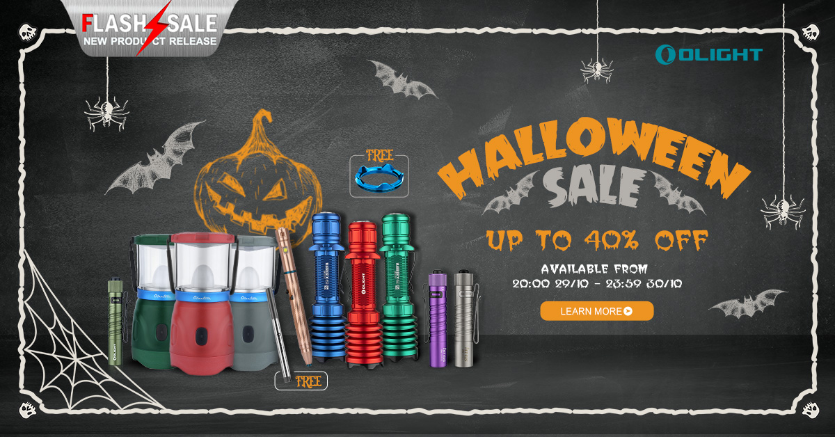 Update! Four New Torches for Halloween Sale