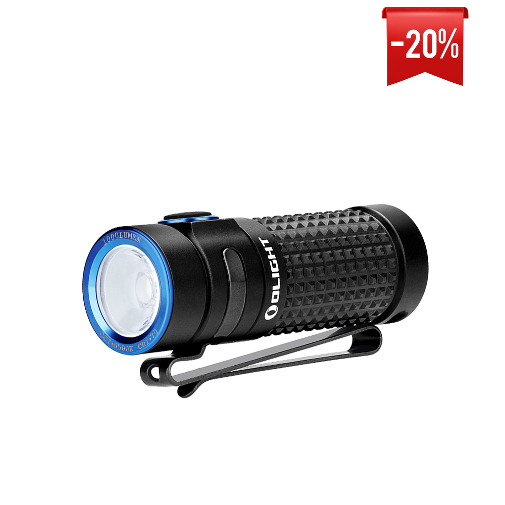 Olight S1R Baton II 1000 Lumens Side Switch USB Rechargeable Compact EDC Torch