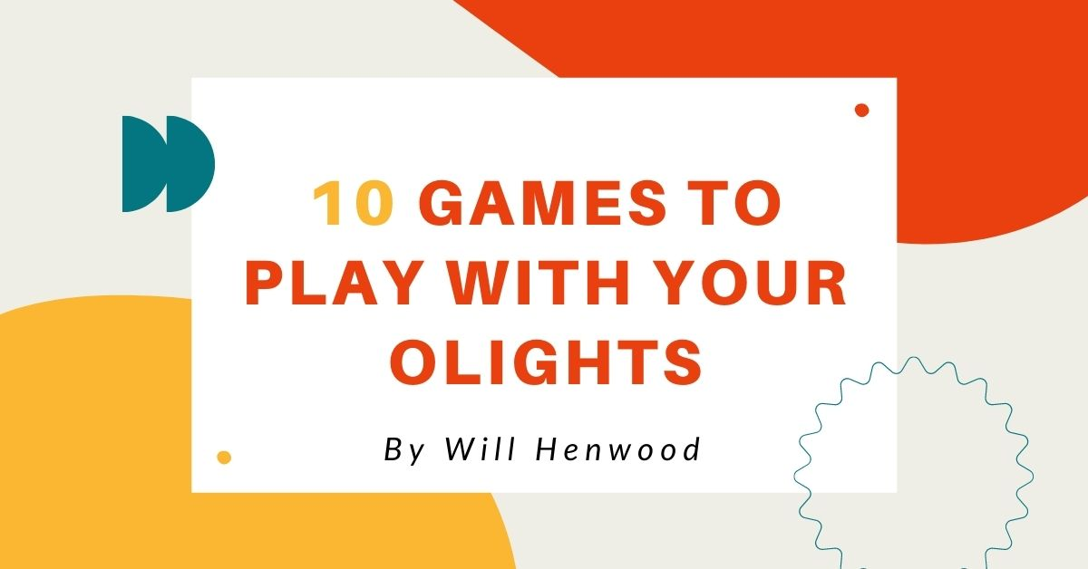 4. 10 Games to play with your Olights - Will Henwood