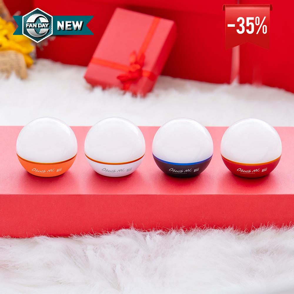 4 Obulb MC: White + Black + Red + Orange