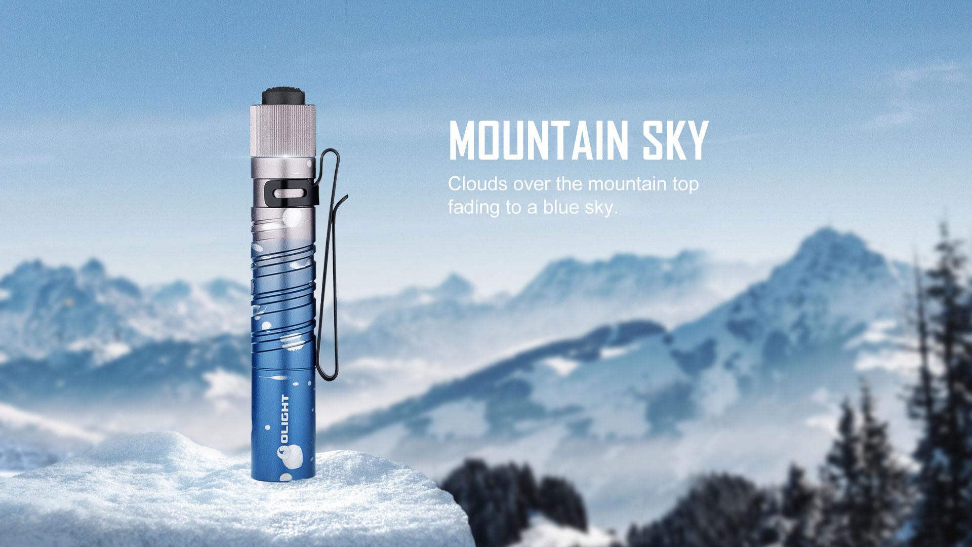 i3T,i3T mountain sky,olight torch