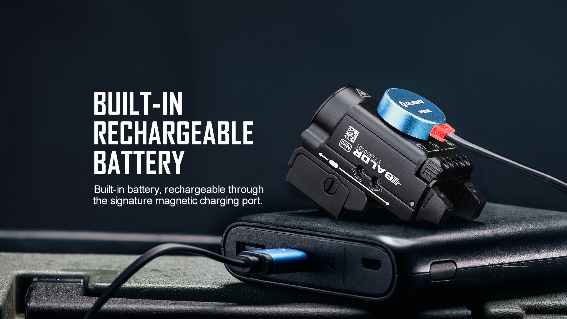 baldr mini,magnetic charging