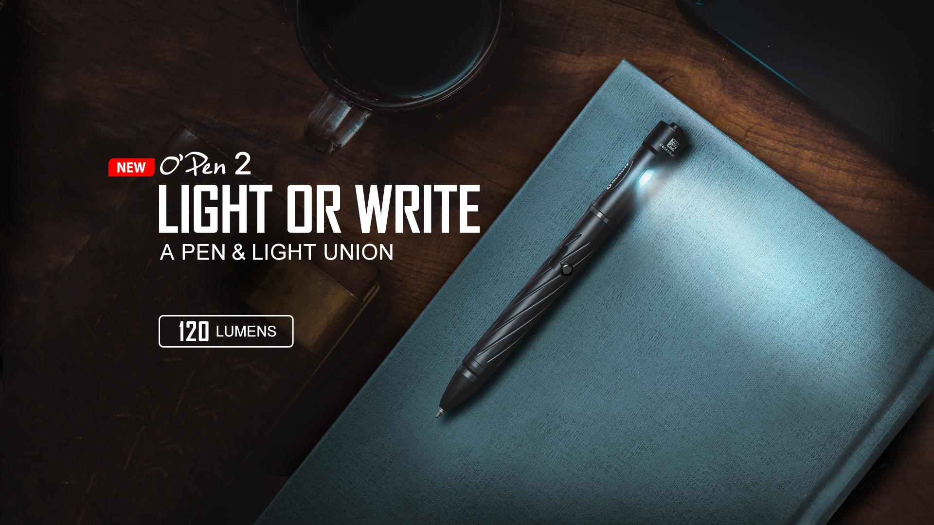Olight 120 Lumens Penlight Black