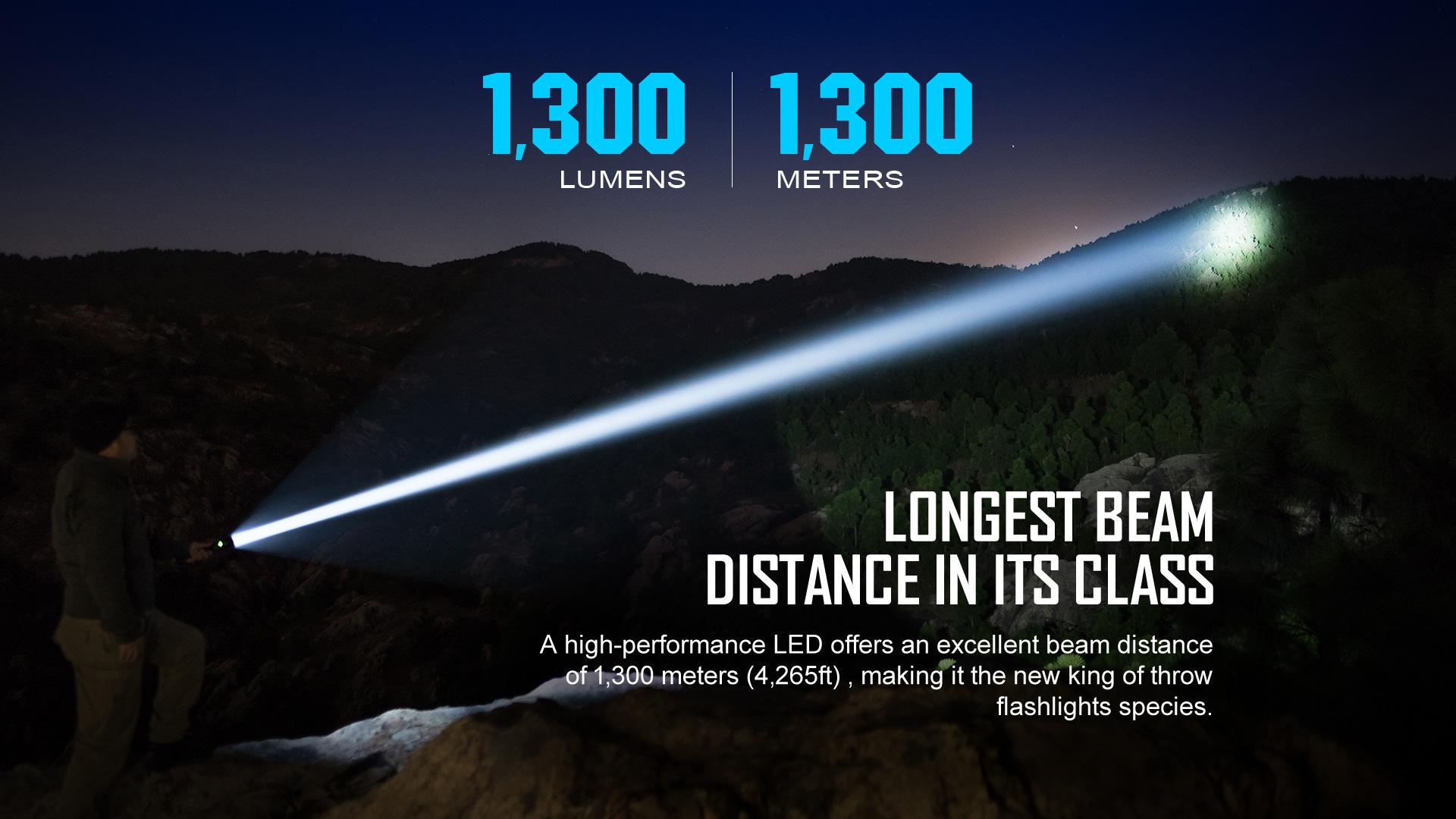 javelot turbo,1300 meters,hunting light,duty light