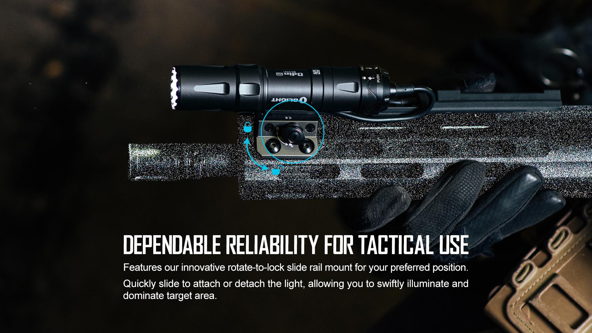 odin,mini,high output,tactical light