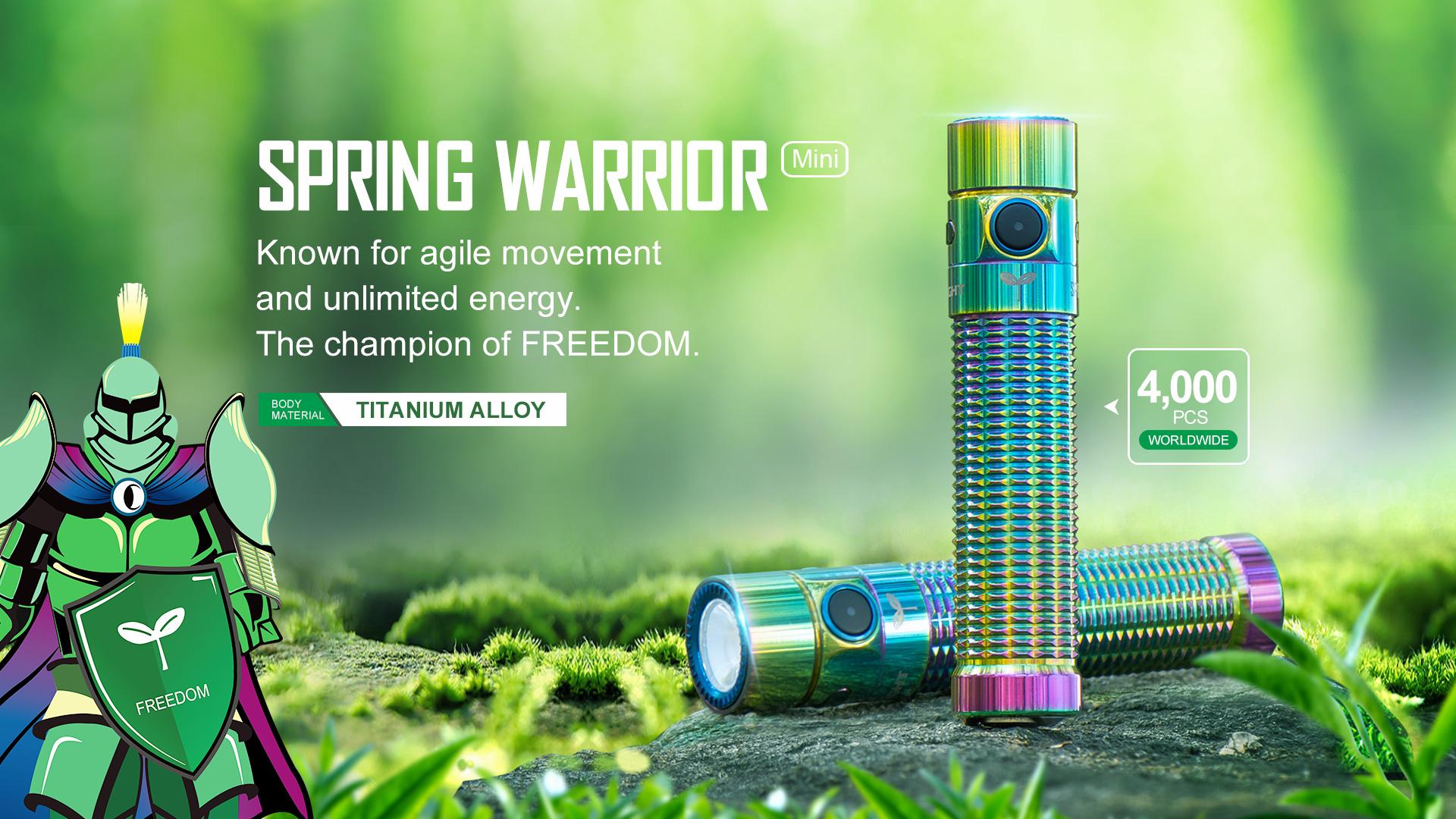 warrior mini,tactical,edc torch