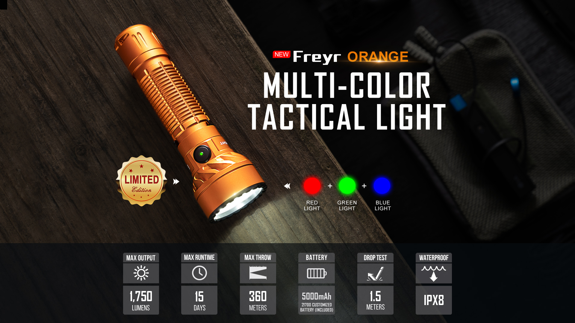 olight freyr multicolour light